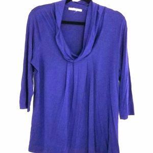 Kenneth Cole NY size medium royal blue top